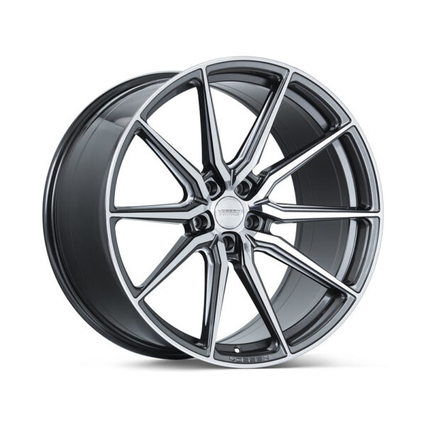 Диски Vossen HF-3 Цвет Gloss Graphite Polished. Hybrid Forged серия