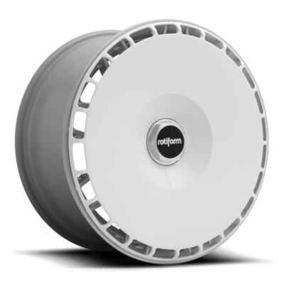 Rotiform AeroDisc Wheels color Gloss White / Silver Hex