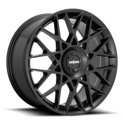 Rotiform BLQ-C Wheels color Satin Black