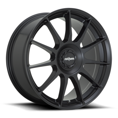 Rotiform DTM Wheels color Satn Black