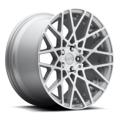 Rotiform BLQ Wheels color Silver & Machined