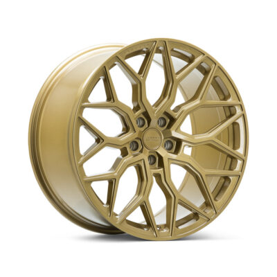 Диски Vossen HF-2 Цвет Gloss Gold - Hybrid Forged - Vossen Wheels