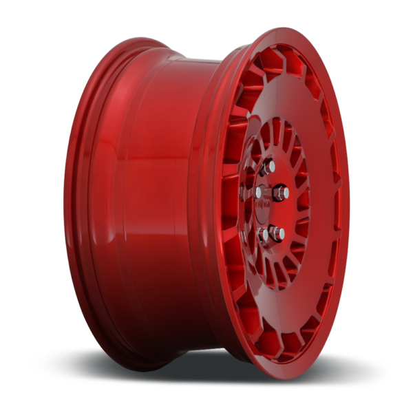 Rotiform CCV Wheels color Candy Red