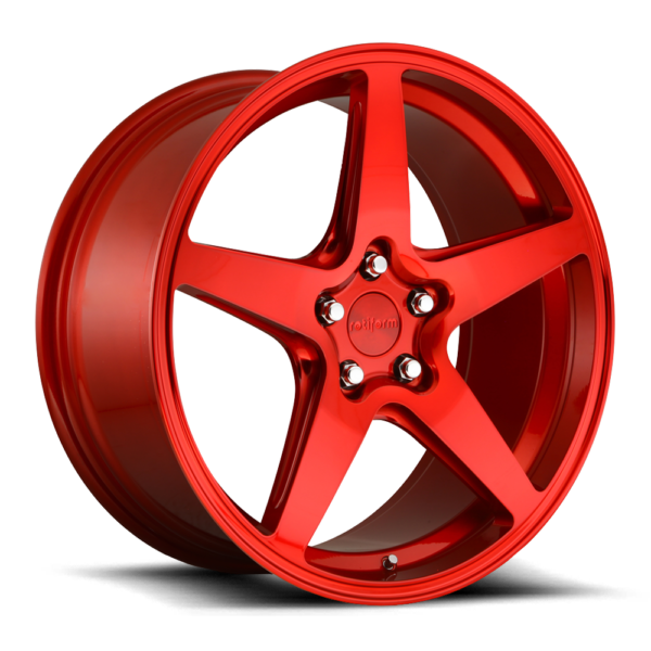 Rotiform WGR Wheels color Candy Red